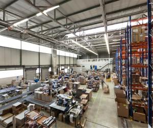 Ein Blick in das ProReServ Logistikzentrum