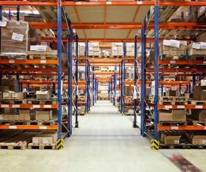Lagerung im ProReServ Logistikzentrum